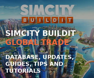 SimCity BuildIt Database, Guides, Tips and Tutorials