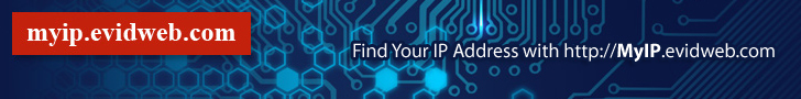 Find, get, and show my IP address
